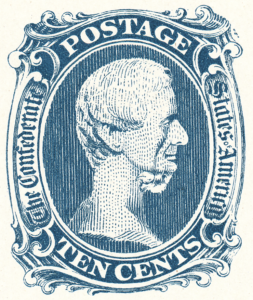 Facsimile of CSA #9 stamp